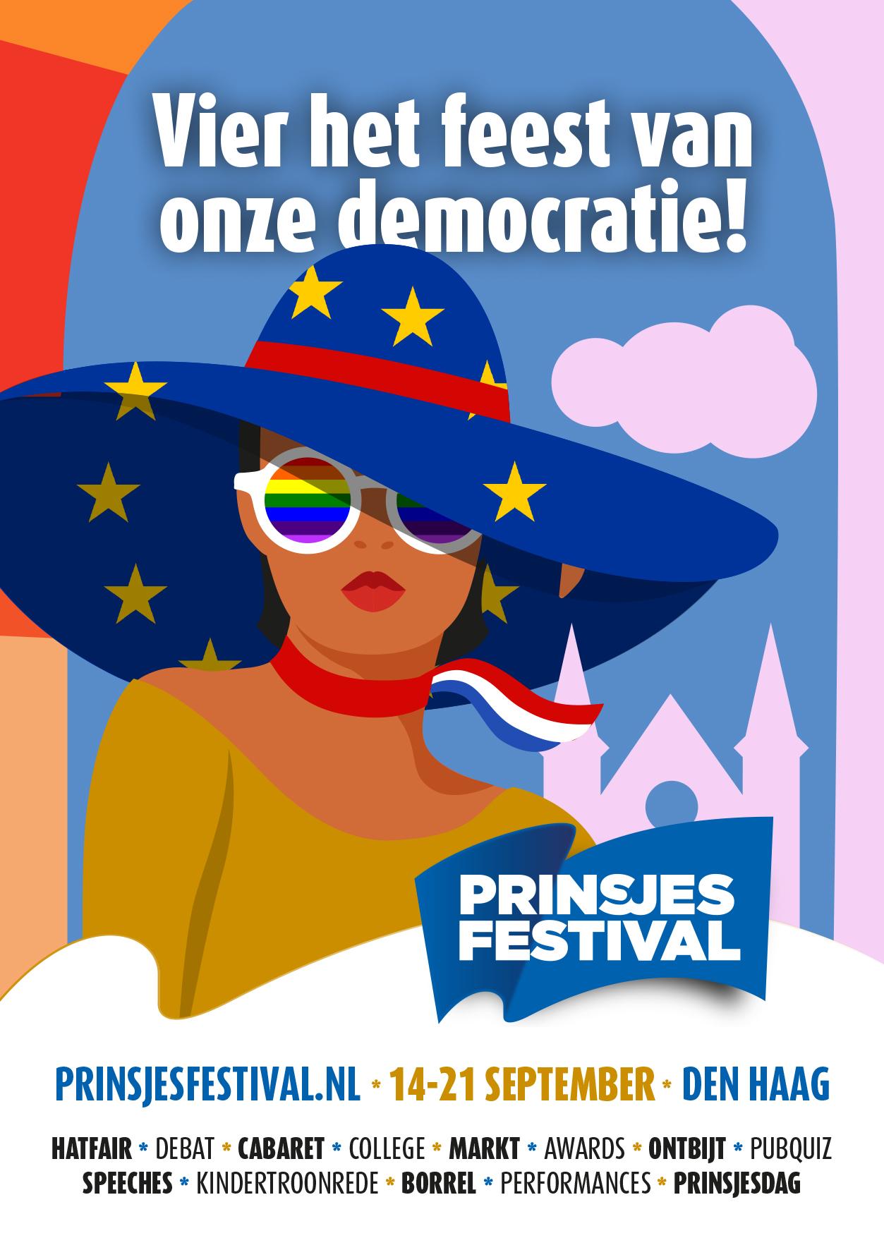 Kom naar het Prinsjesfestival