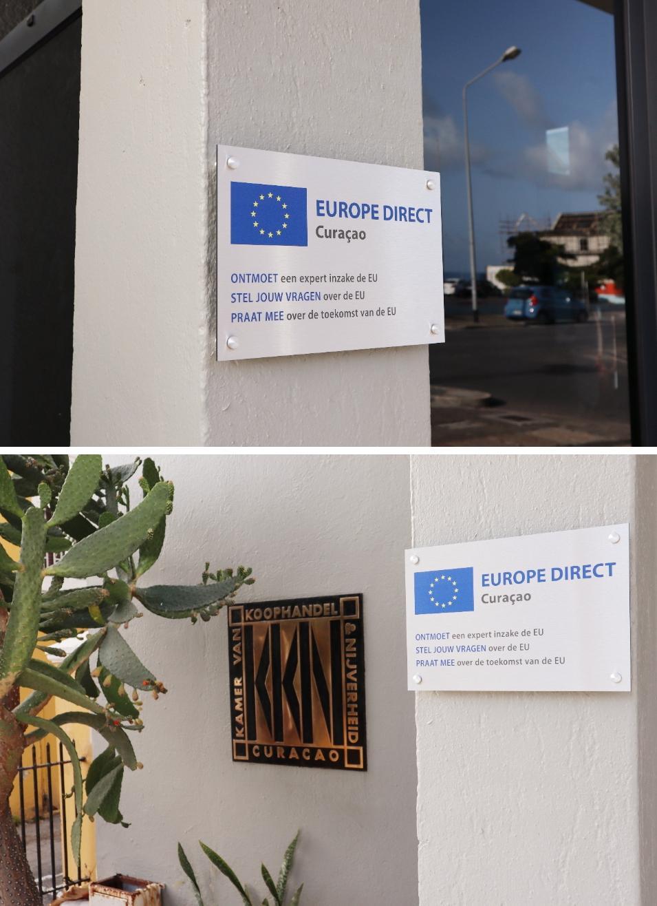 Europe Direct, informatiepunt in Curacao