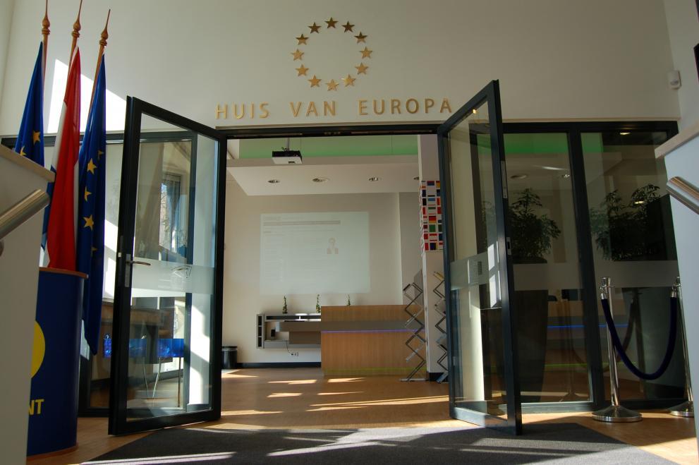 Een kijkje in het Huis van Europa