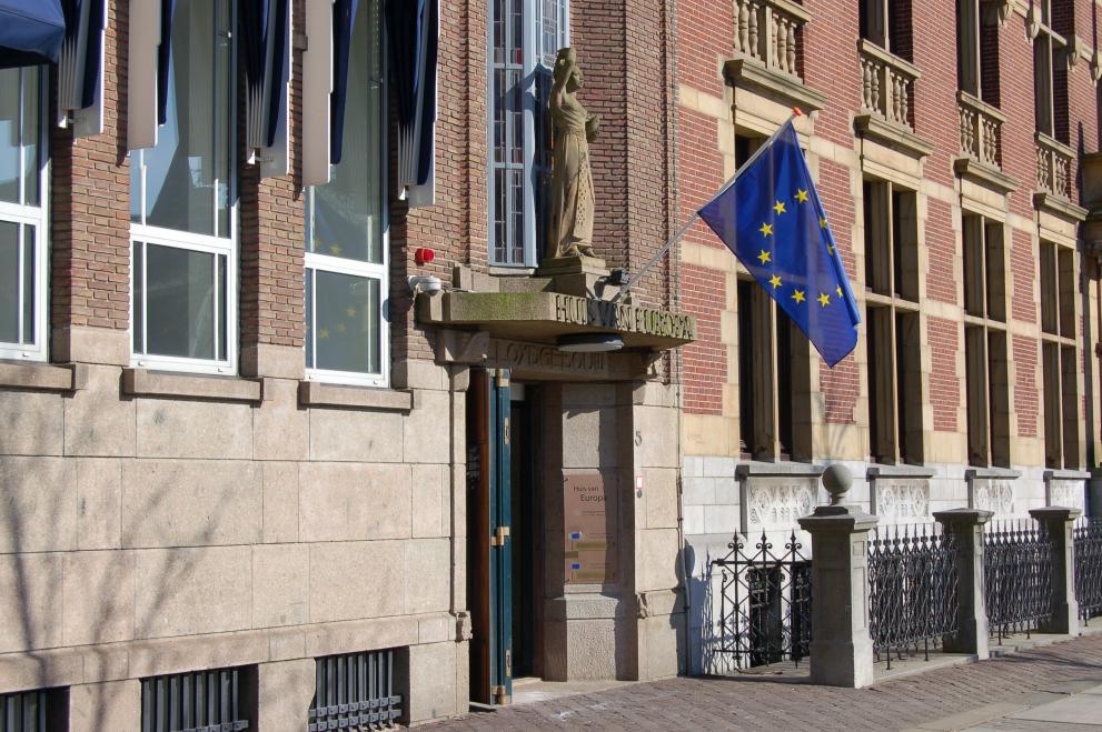 Het Huis van Europa in Den Haag