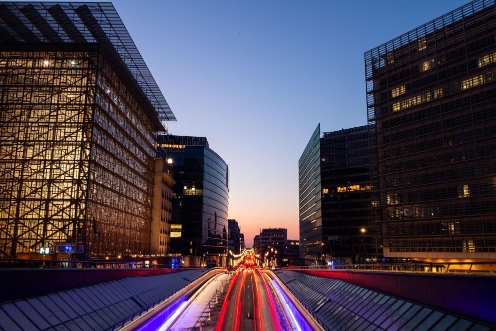 Europawijk in Brussel