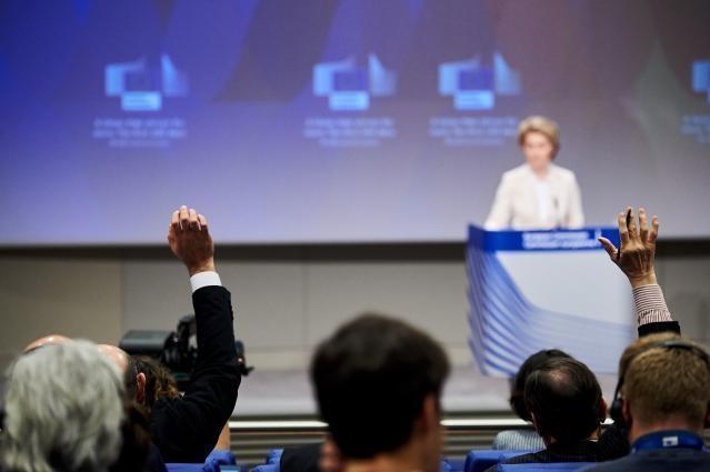 Press conference by Ursula von der Leyen, President of the European Commission