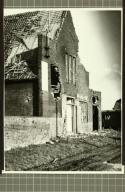 Tweede Wereldoorlog, bombardement Ospel, Mariahuis - Gemeentearchief Weert, Netherlands -